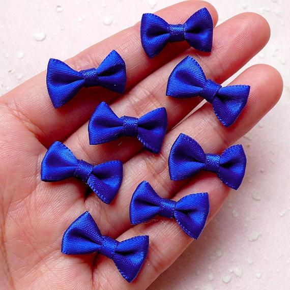 Ribbon Jewelry Scrapbook Small-Fabric Wedding-Party-Favor Mini 100pcs Bow-Tie Bow-Tie