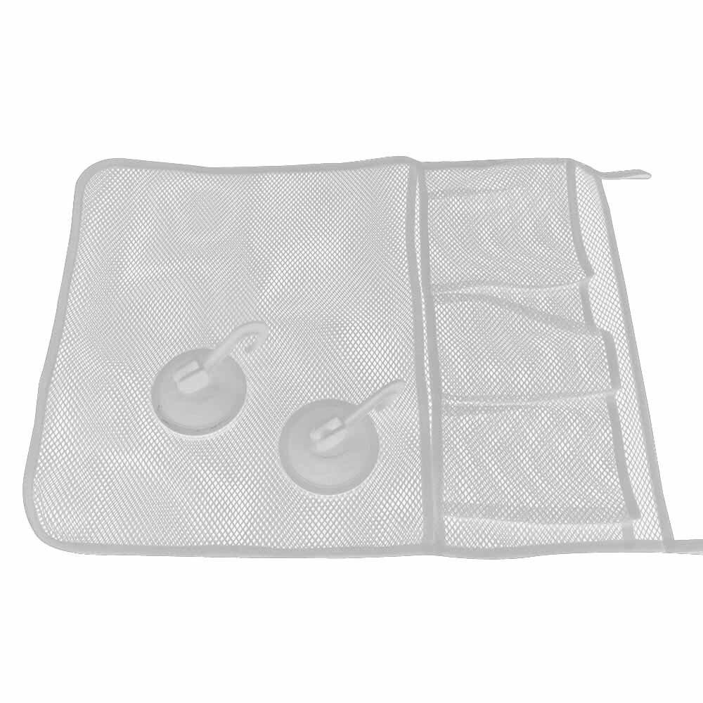 Housekeeping Organizers Baby Bath Time Toy Tidy White Storage Hanging Bag Mesh Bag Mesh Bathroom Organiser Net