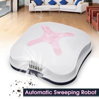 Household Mini Smart Sweeping Robot Slim Rechargeable Sweep Suction Machine Small Low Noise Vacuum Cleaner Sweeping