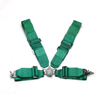 1 SET 3 4 POINTS Car Seat Belt Racing Fabric Harness Safety TA Style Car Safety