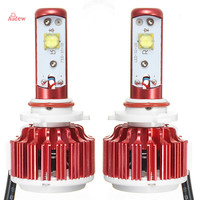 2Pcs H7 H4 LED Car Headlight 6000K Automobile Waterproof 9005 9006 Front Car Bulbs H11 Fog