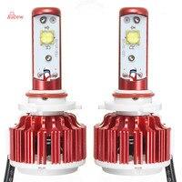 2Pcs H7 H4 LED Car Headlight 6000K Automobile Waterproof 9005 9006 Front Car Bulbs H11 Fog