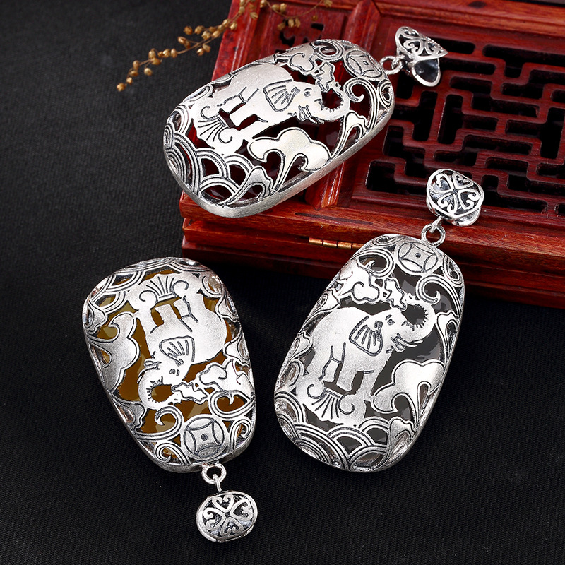 2018 Hot Sale Time-limited Carnelian Fine Restoring Ancient Ways Is Han Edition Elephant Pomegranate Ms Sweater Chain Pendant быков дмитрий львович советская литература расширенный курс