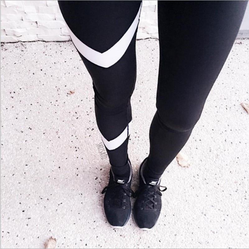 d2b57a29749ec Ladies Mesh Pants See Through Leggings 2017 Casual Womens Black Wide  Waistband Mesh Insert Stirrup Workout Leggings 6057-in Leggings from Women's  Clothing ...