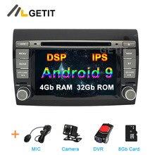 DSP ips Android 9 автомобильный DVD Мультимедиа Радио для Fiat Bravo 2007-2012 автомобильный стерео gps навигация