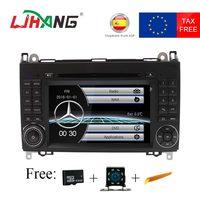 2 Din Авто автомагнитолы DVD gps Штатная для Mercedes Benz B200 A B класс W169 W245 Viano Vito w639 Sprinter W906 Bluetooth FM AM