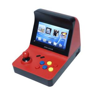 Image 1 - Powkiddy A8 Retro Arcade Console Game Console Gaming Machine Built In 3000 Classic Games Gamepad Control AV Out 4.3 Inch Scree