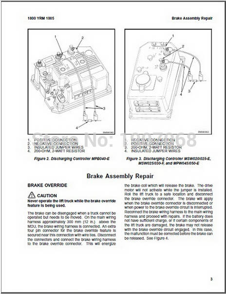 Online Shop New Yale All Wiring Diagrams and Service Manuals PDF