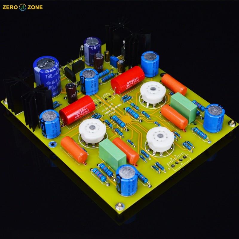 цена на PRT07B 12AX7 Tube preamplifier board Base on Marantz 7(M7) circuit (No tube)