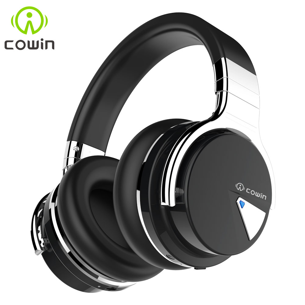 Original Cowin E-7 Wireless Bluetooth Headphones Stereo Headset With Microphone 30 Hours