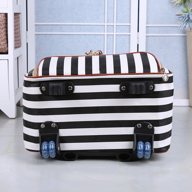 Women's Waterproof Travel Rolling Luggage