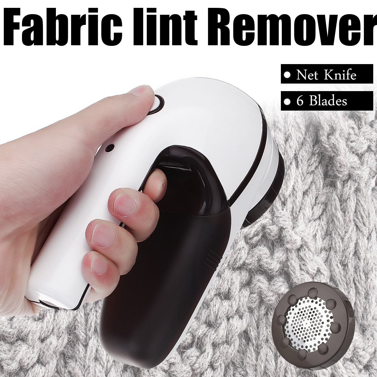 цена на Portable USB Travel Ball Hair Trimmer with Rotary Handle Rechargeable Lint Remover Sweaters Wool Fabric Shaving Down Device