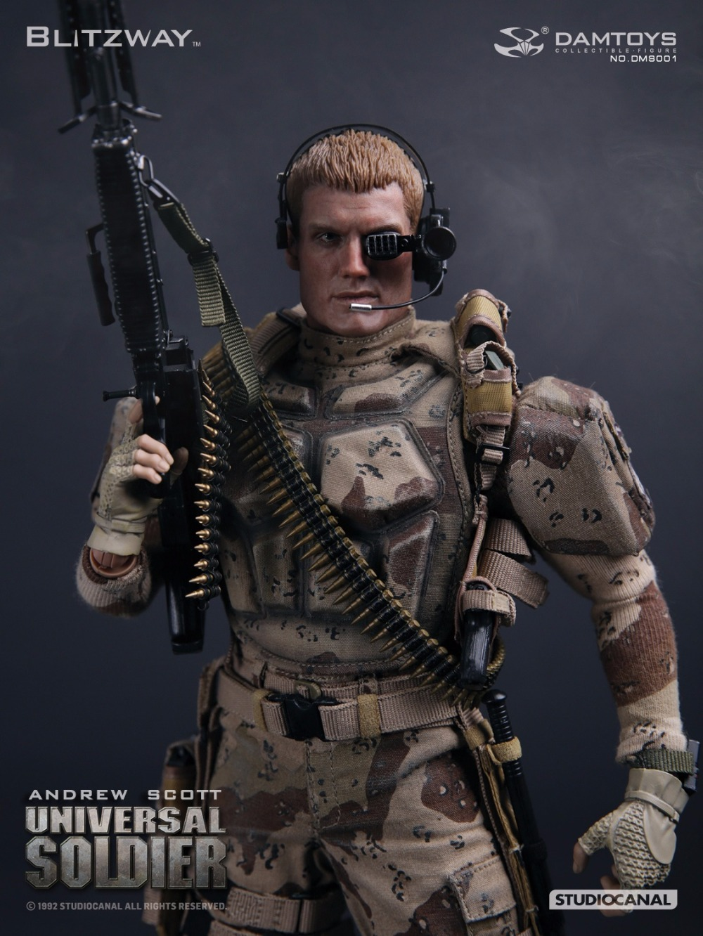 1/6 scale Collectible military figure Universal Soldier Andrew Scott Dolph Lundgren 12 action figure doll model toy neca planet of the apes gorilla soldier pvc action figure collectible toy 8 20cm