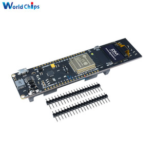 ESP32 oled-дисплей 0,96 дюйма, Wi-Fi, Bluetooth, 18650, литиевая Защита аккумулятора, плата для разработки, CP2102 модуль, замена ESP8266, хит продаж