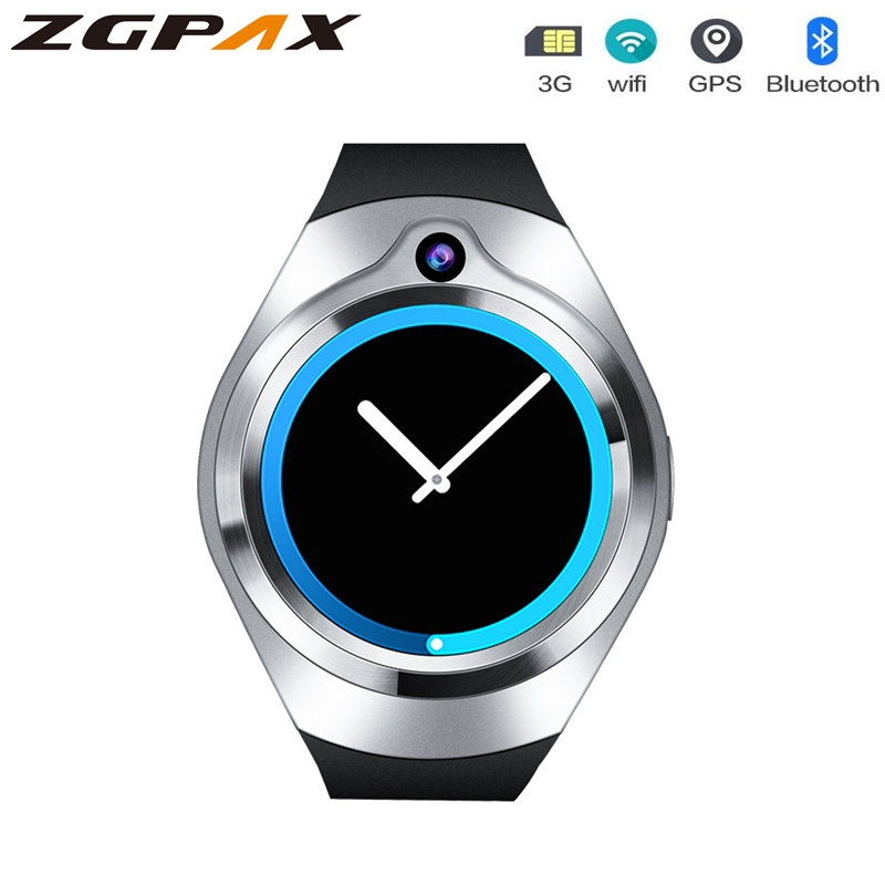 ZGPAX S216 Smart watch Android 5 1 Heart Rate relogios support Bluetooth 3G WiFi GPS smartwatch