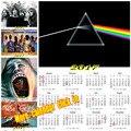 Pink Floyd 2017 календарь плакат Урожай Ретро фильм Античная Плакат Стикер Стены Домашнего Декора