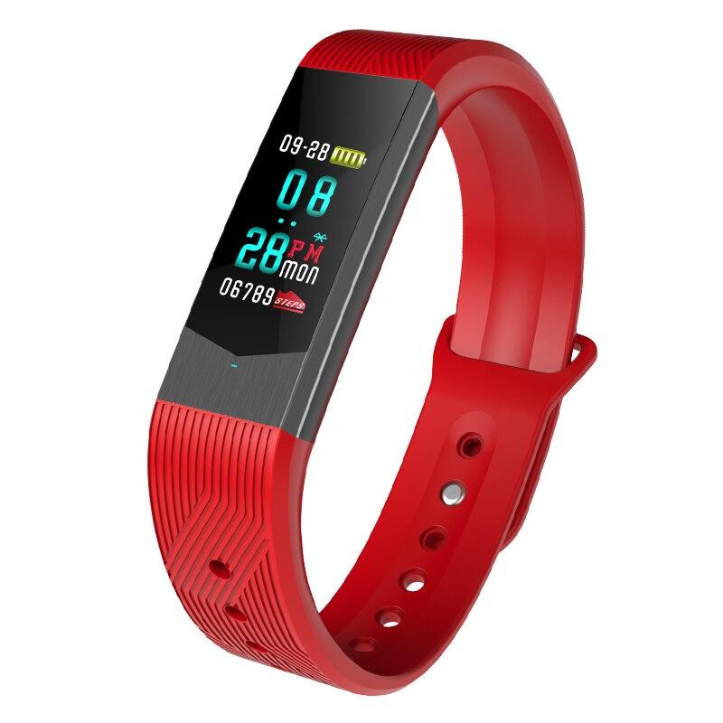 Marque femmes hommes amoureux Sport montre numérique intelligente Bluetooth sommeil pression artérielle Tracker appel APP rappel étanche montre-bracelet