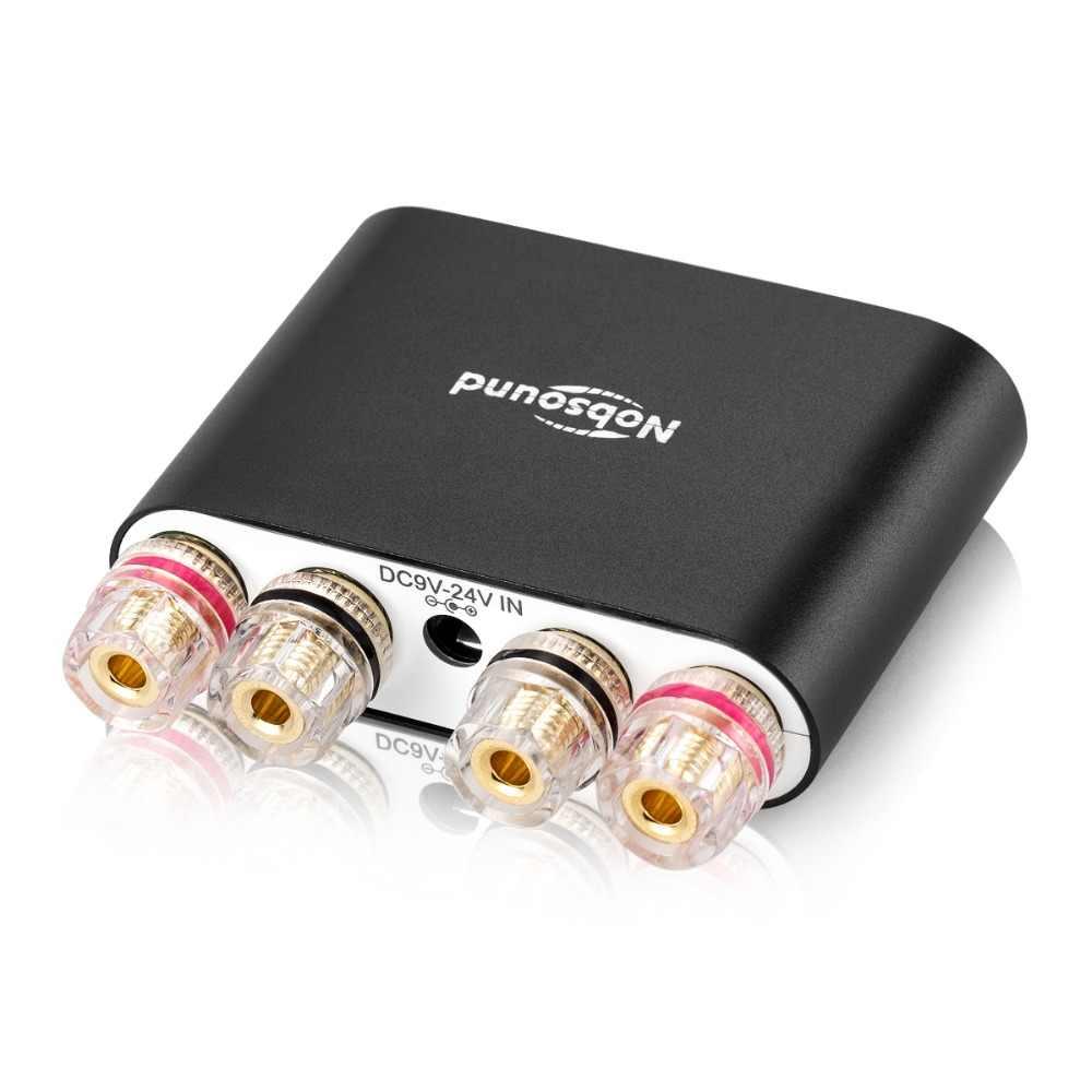 2020 Terbaru Nobsound NS-10G Pro Mini Bluetooth 5.0 DSP Digital Power Amplifier Stereo Hi Fi Audio Amp 50W + 50W