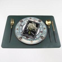 Harting новейший Настольный коврик из искусственной кожи Подставка под кружку изоляционная салфетка для стола коврик для коврики под посуду на стол