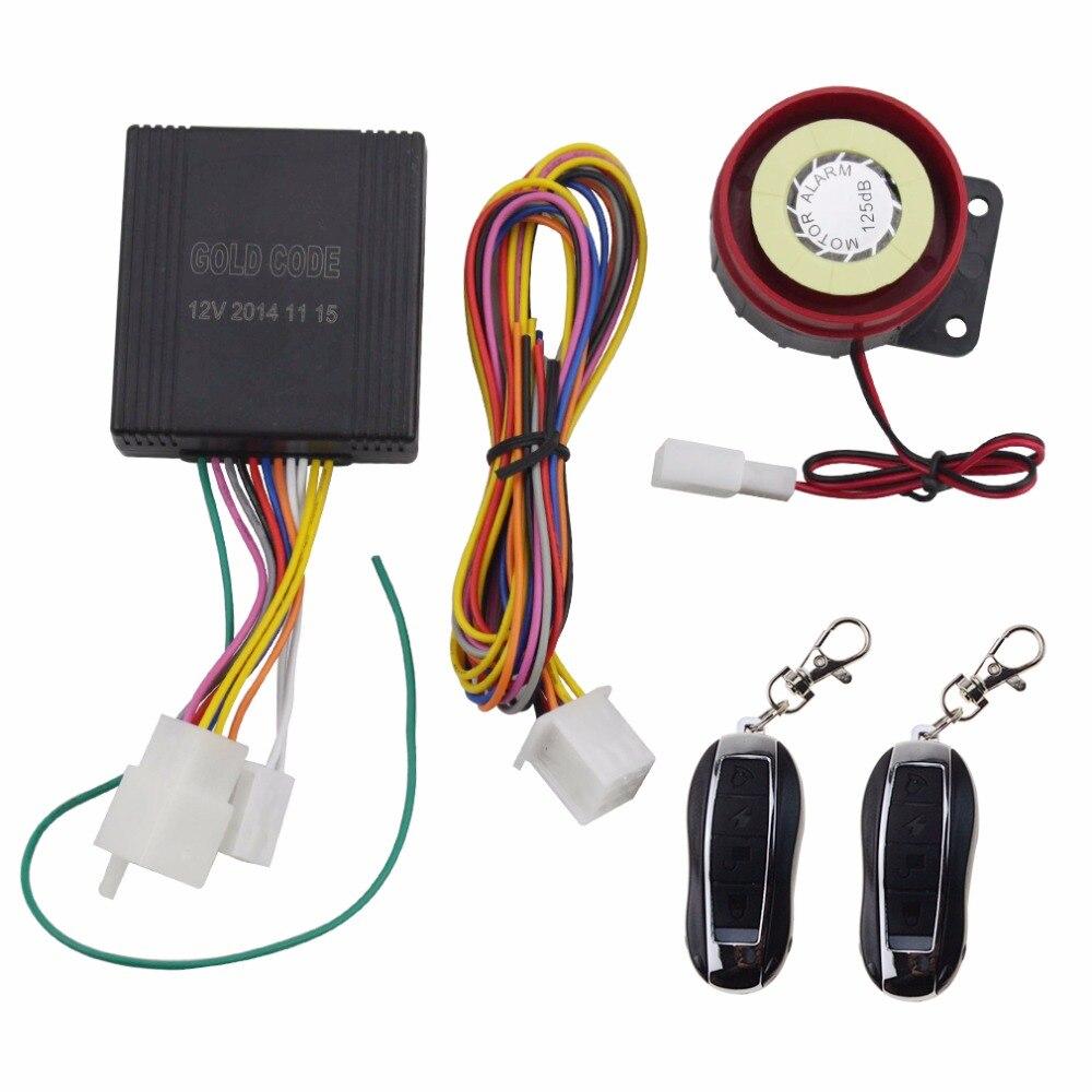 Alarma de Control remoto de motocicleta GOOFIT (Control Remoto Dual) A009-001