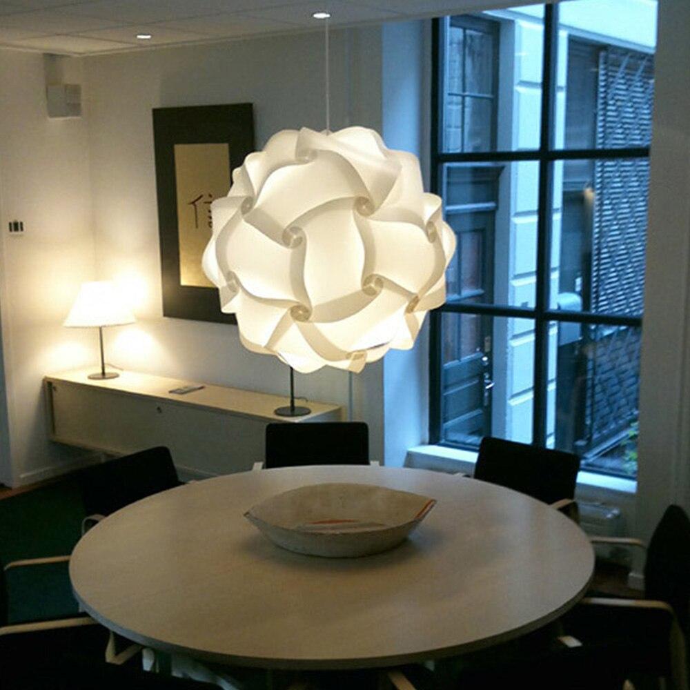 Modern Lamp Pendant Ball Lamp Novel IQ Lamp Shade Jigsaw