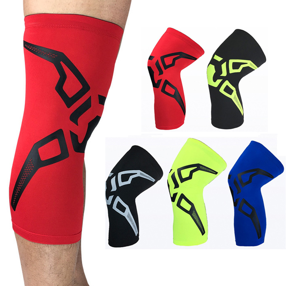 High Elasticity Compression Knee Pad Fashion Pattern Sports Protective Gear LFSPR0016