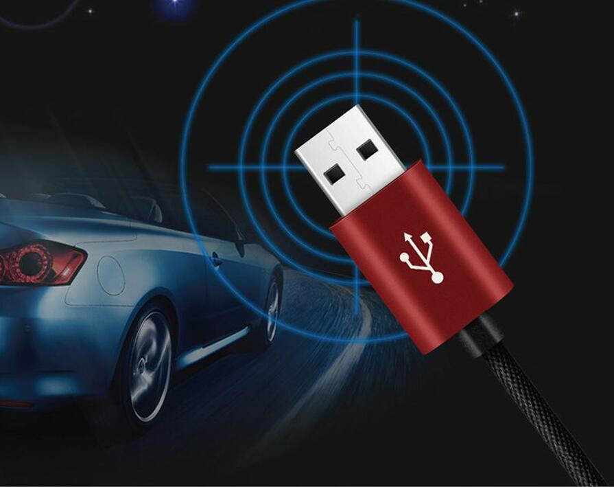Auto 2 in 1 Cable for android and Iphone data charger WiFi LBS AGPS tracker GSM voice recorder for car Tracking Gps tracker image