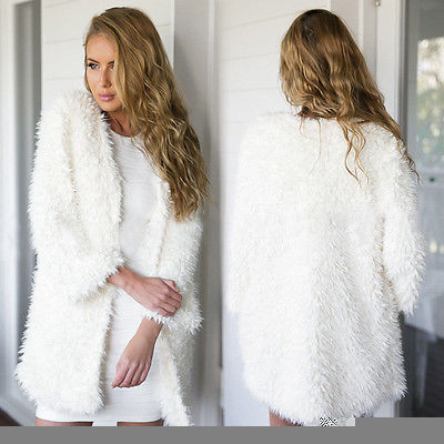 Hot Fashion Women Long Sleeve Knitted Cardigan Loose Sweater Outwear Jacket Coat Sweater