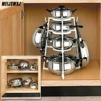 Estante de almacenamiento para cocina, organizador de utensilios de cocina