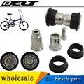 MTB велосипедный Цикл складной велосипед Поворотный замок болт гайка блок кусты для подвески рамы 28,8 мм 1 комплект