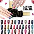 Azure Newest Magnetic Color Gel Polish 3D Diamond Cat Eyes Nail Gel Polish Need Magnet Stick Gel Lacquer