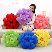 48cms New soft short plush rose pillow, creative doll, super soft, short plush toy, pillow, decoration gift wholesale.