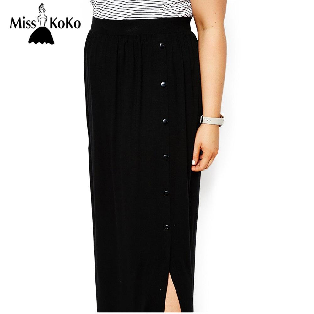 Long Straight Black Skirt Promotion-Shop for Promotional Long ...