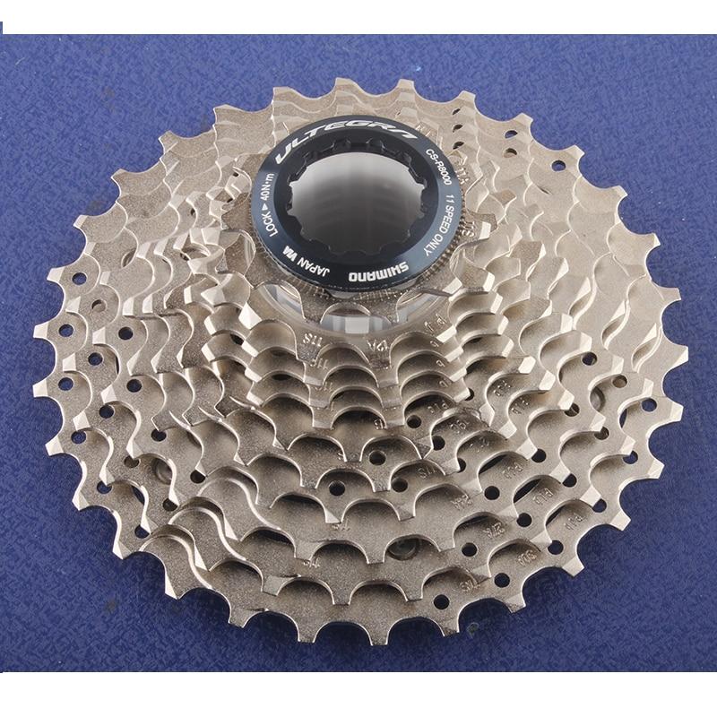 цена на Shimano New ULTEGRA CS R8000 11S Speeds 11-25T 11-28T 11-30T Road Bicycle Bike Cassette Freewheel