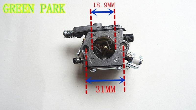 Chain saw spare parts carburetor CARB fit 25cc 2500 Timber chainsaw ZENOAH KOMATSU Engine replacement (Huayi brand)