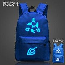 Awesome Luminous Naruto's Hokage School / Travel laptop Bag / Backpack