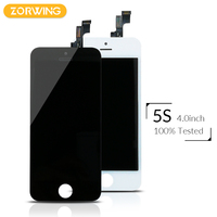 2017 Hot Sale Replacement Screen LCD For IPhone 5S Display With Digitizer Touch Screen Assembly High