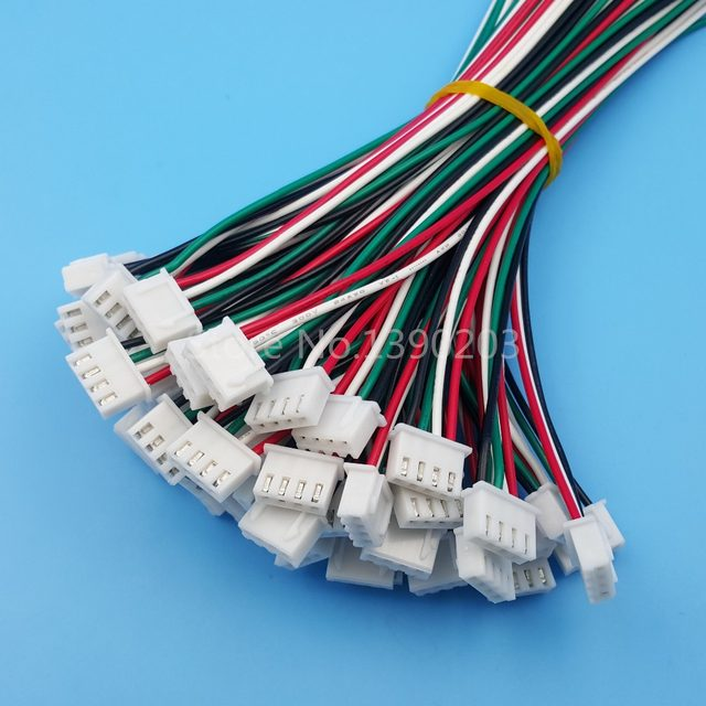 Online Shop 50Sets XH Pitch 2.54mm Single-Head 4Pin 4Way Wire To ...