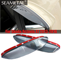 1Pair Car-Styling Rearview Mirror Eyebrow Rainproof Flexible Blade Protector Accessories For Skoda Octavia A7 2013 2014 20152016