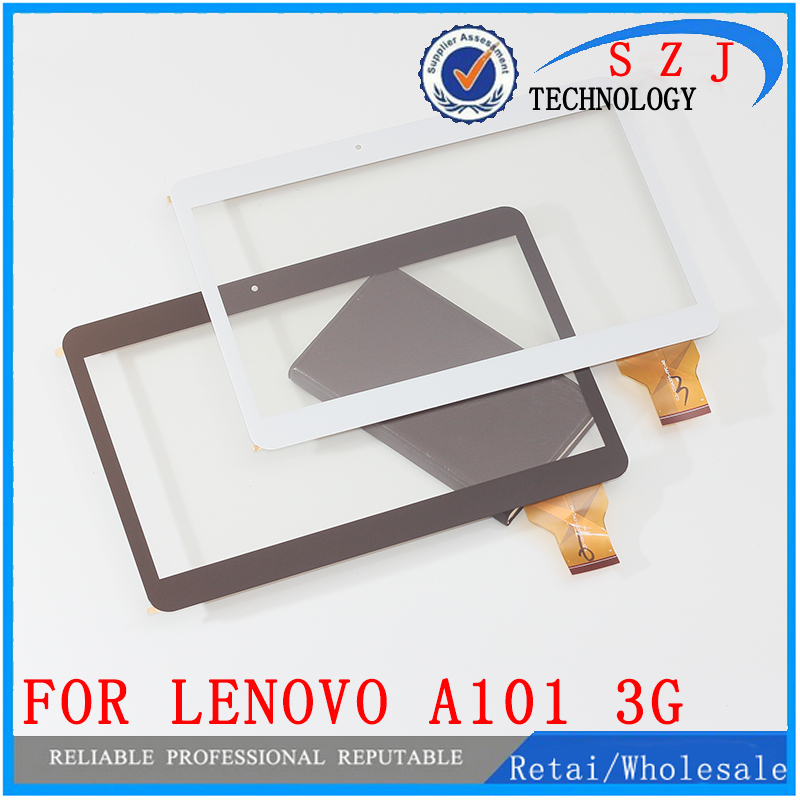 Original 10.1'' inch Touch Screen Digitizer For Lenovo S6000 - A101 3G Quad core Tablet MTK6582 Glass Sensor Free Shipping 10pcs 3 7v 6340mah battery for s6000 a1000a3000 s600h a3000 h b6000 f l11c2p32 1icp3 62 147 2 free shipping