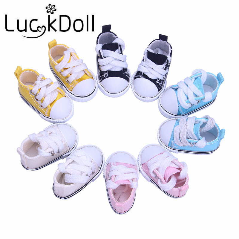 New arrives 5 canvas shoes For BJD Doll Toy Mini Doll Shoes for Sharon Doll Boots Dolls Accessories Hot Sale 5cm
