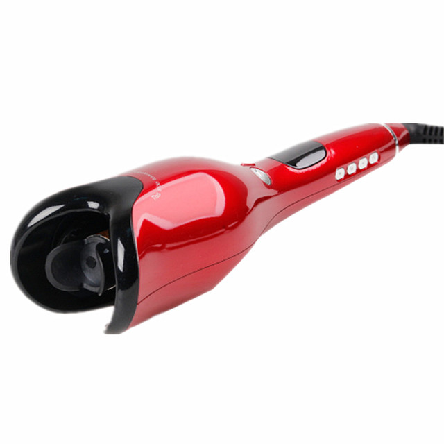 Curling Irons Automatic Air Curler LCD Digital Display Wand Ceramic Rotating Hair Curler Hair Styling Tools Hair Care 3