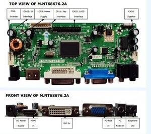 """Image 2 - Hdmi + dvi + vga + kit de placa controlador de áudio lcd 19.5 """"M195FGE L20 LM195WD1 TLC1 m195rtn01 1600*900 lcd placa controlador kits diy"""