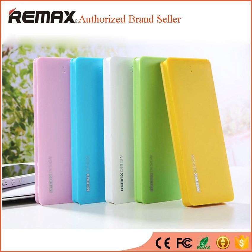 imágenes para Remax ultra delgado banco de la energía 5000 mah powerbank batería externa portátil móvil cargador de batería externo para el iphone 5 6 s universal