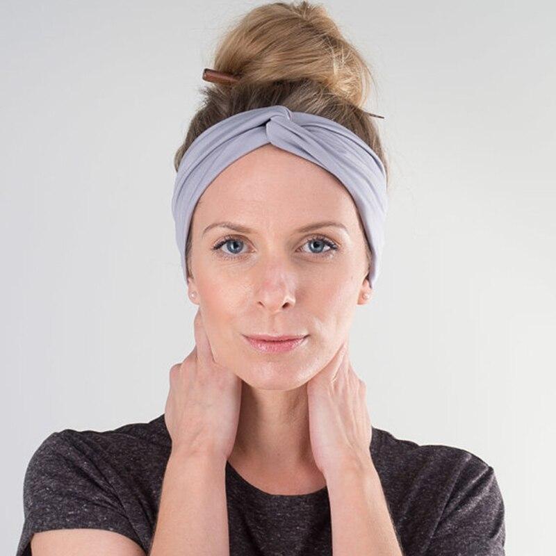 TININNA Coton Imprim/é /Élastique Bande De Cheveux Femmes Filles Sports Fitness Bandeau Headwraps Accessoires Large Bandeaux De Yoga Antid/érapants Turban Sports Headwear Bonnet Headscarf Rouge
