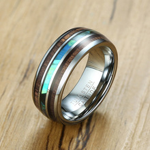 Fashion Ring Men Tungsten Carbide Silver Color Ring Male Jewelry Rings For Boy Trendy Simple 8mm Rings 7 8 9 10 11 12 fashion stainless steel silver color men spinner ring punk jewelry personality male rings size 7 8 9 10 11 12