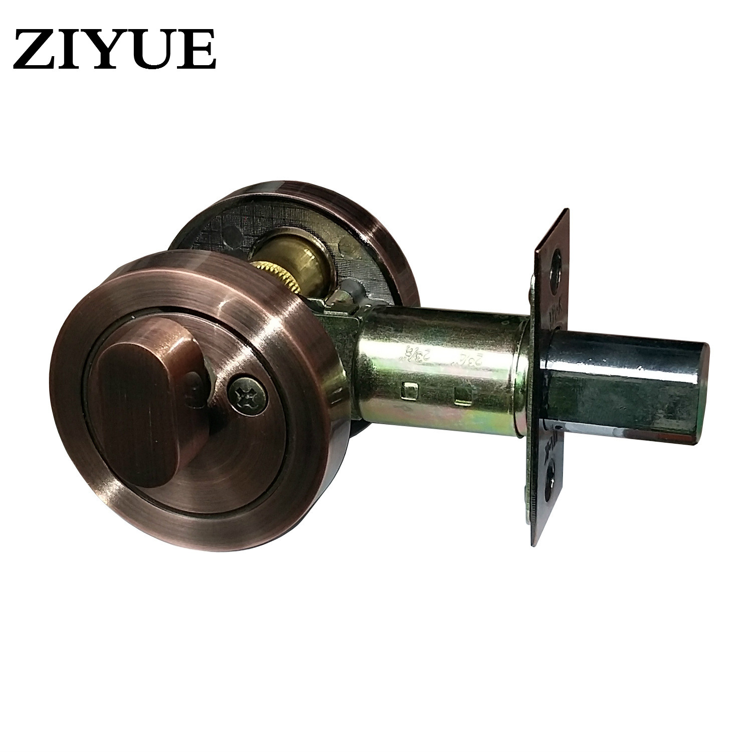 Free Shipping Locking Locking Zinc Alloy Locking Zinc Alloy Locking Single Head Door Lock alloy