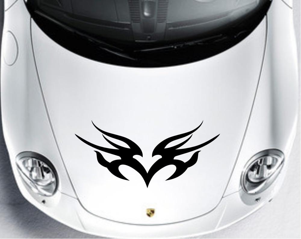 Car design sticker stripes - Car Truck Decal Vinyl Stickers Hood Decals Racing Stripe Design Cg137 China Mainland