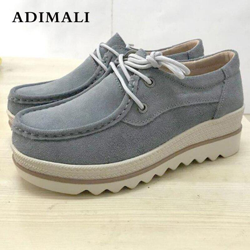 Zapatillas mujer/белые кроссовки на танкетке, обувь на платформе, высокое качество, тонкие туфли на платформе, женская повседневная обувь, увеличив...