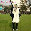 "Niuniu Daddy,80cm/31.5"" Inch,Plush Bear Skin ,semi-finished Toys Plush teddy bearskin birthday gift Free Shipping"